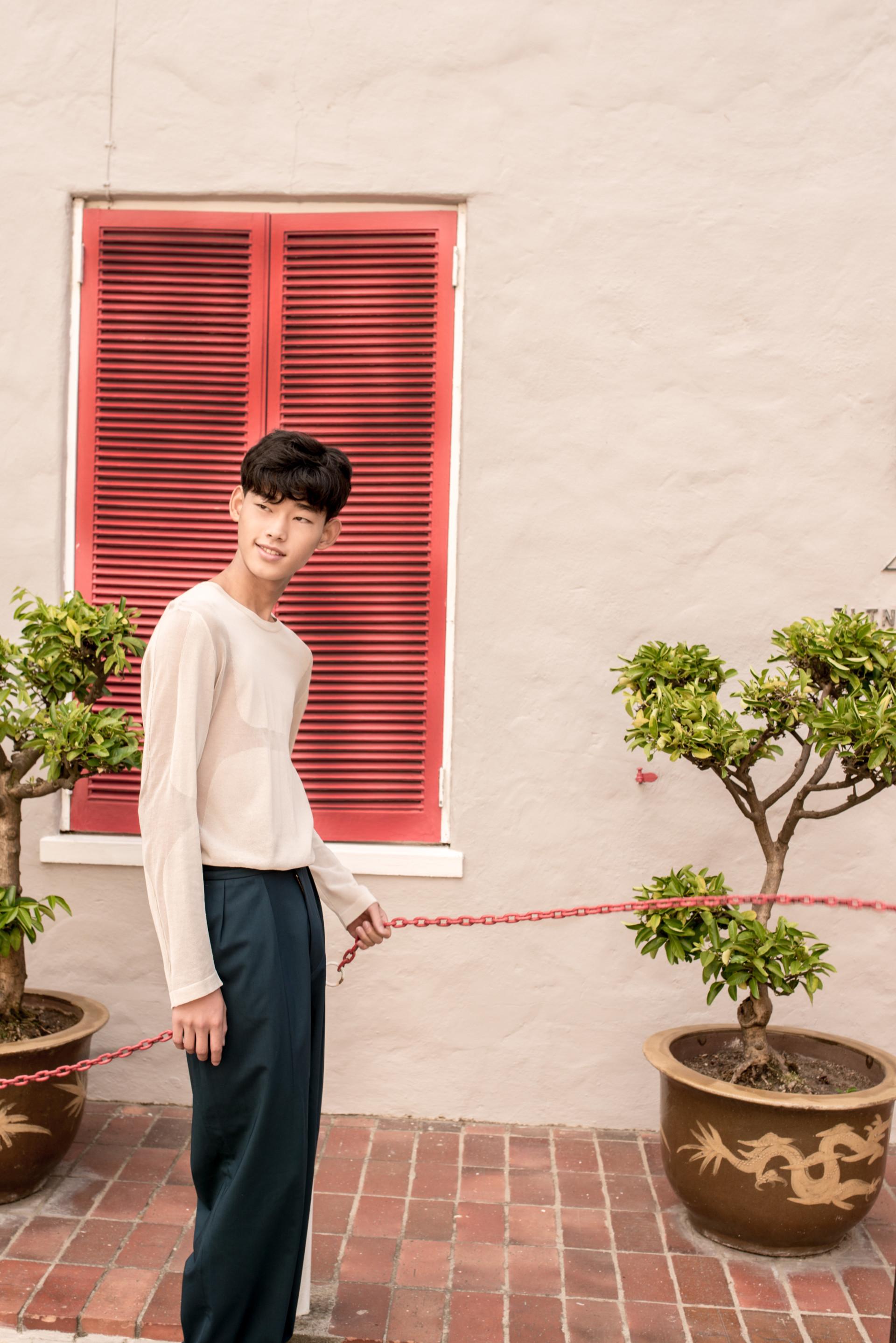 WOLEJKO-WOLEJSZO Elle Men HK Issue with Jae from Twenty Modelmanagement
