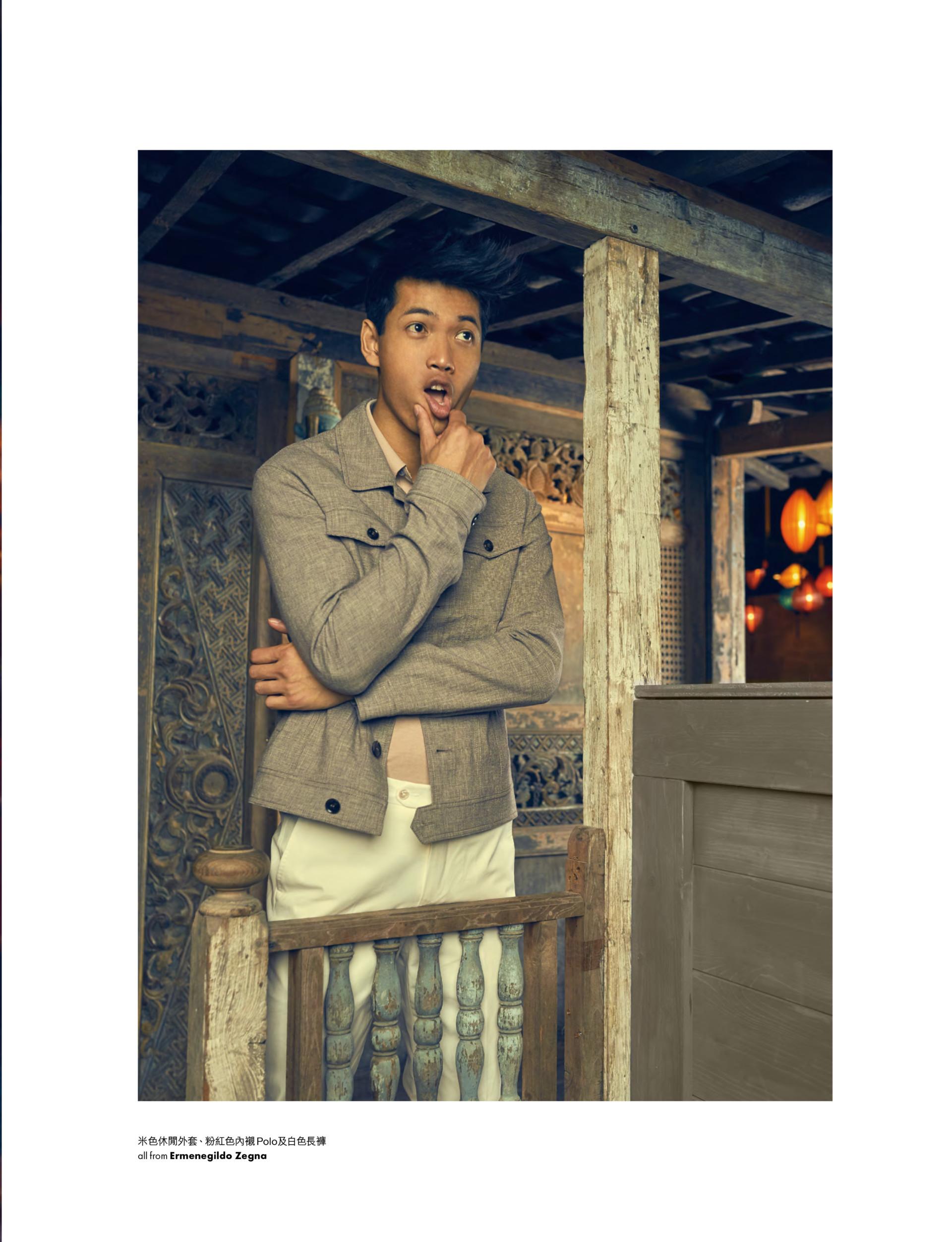 WOLEJKO-WOLEJSZO John Reed for Elle Men HK