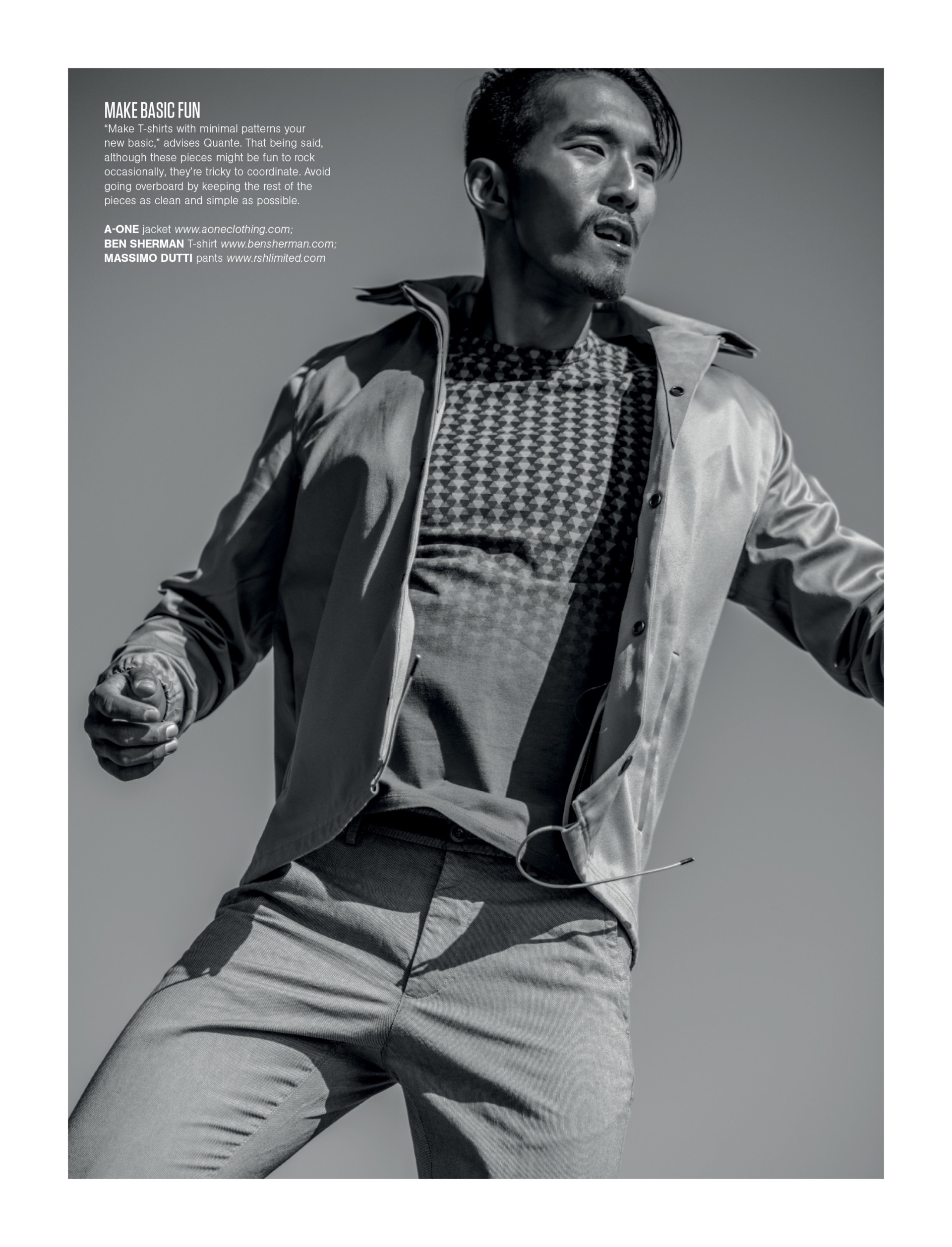 WOLEJKO-WOLEJSZO Chan Lee for Men's Health