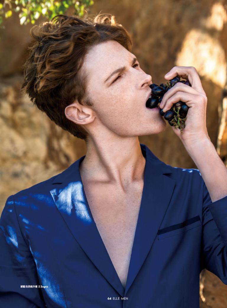 "WOLEJKO-WOLEJSZO Alex for Elle Men HK ""Safari Issue"""